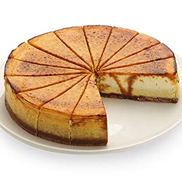 Creme Brulee Cheesecake - 9 Inch