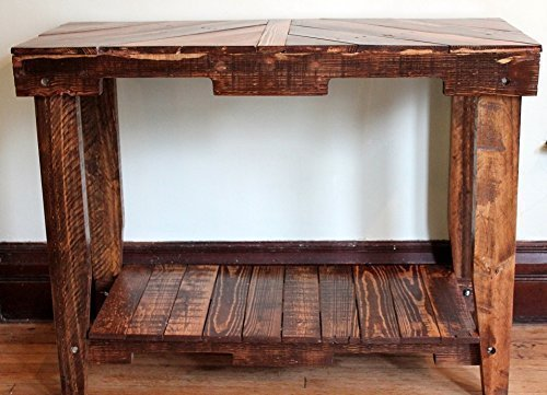 Amazon.com: Solid Wood Pallet Sofa Entry Table: Handmade