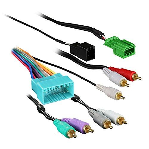 - Metra 70-7863 Amplifier Retention Wire Harness for 2003-2011 Honda Element