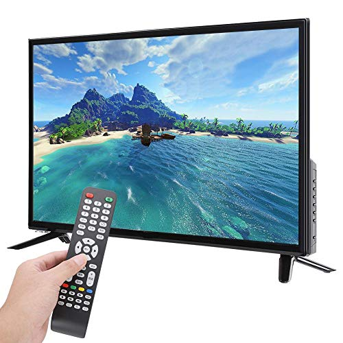 wosume 【𝐒𝐩𝐫𝐢𝐧𝐠 𝐒𝐚𝐥𝐞 𝐆𝐢𝐟𝐭】 TV Ultra-Thin Big Screen 4k HD LCD Television 32 Inch Resolution 19201080 Supports Network Cable+Wireless WiFi 220V (US Plug)