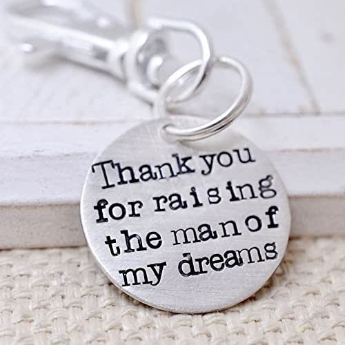 Silver Wedding Anniversary Gifts For Him: Amazon.com: Personalized Silver Key Chain