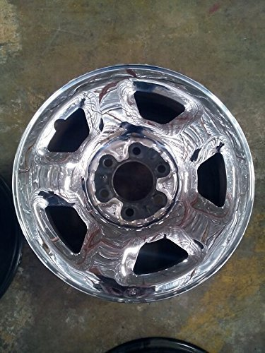 F150 Chrome Rims (17 INCH 03 04 05 06 07 08 FORD F150 F 150 EXPEDITION OEM STEEL CHROME CLAD WHEEL RIM 3518 3576)