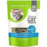 Only Natural Pet Cat Treats Wild Caught Minnows 0.75 oz Bag