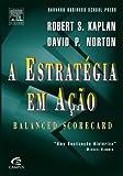 capa de A Estratégia em Ação. Balanced Scorecard