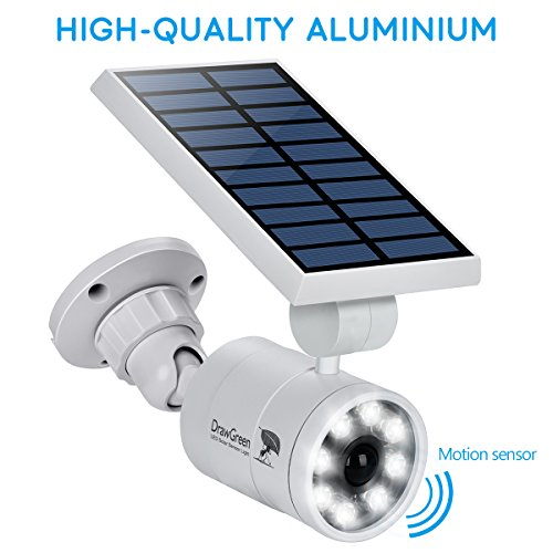 Patio Lights Wireless: Solar Motion Sensor Light,1400-Lumens Bright LED Spotlight