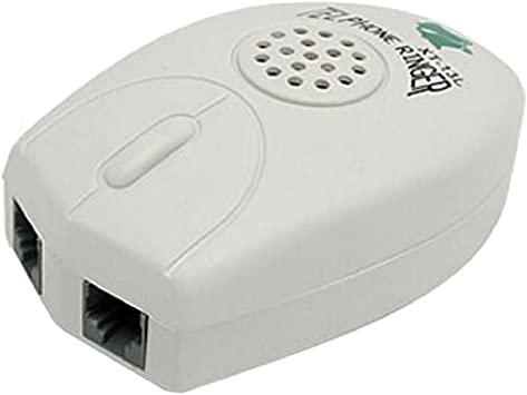 Kamenda Grey Loud Telephone Ring Amplifier Ringer
