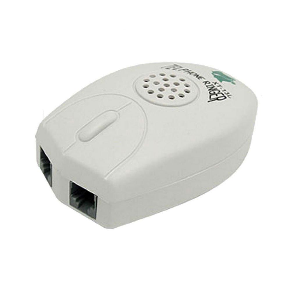 AKOAK Loud Sound RJ11 Telephone Ring Ringer Amplifier Telephone Answering Accessories for Landline Telephone