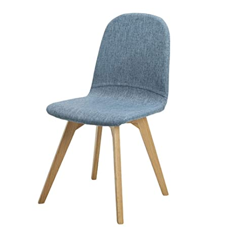 Phenomenal Amazon Com Solid Wood Cotton Backrest Chair Simple And Ibusinesslaw Wood Chair Design Ideas Ibusinesslaworg