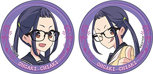 Loose scan △ Ogaki Chiaki Can Badge Set 3 Set of 2, Various one