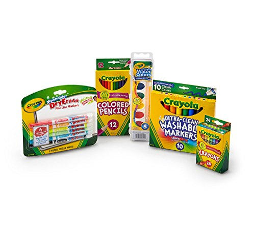Crayola Back to School Pack, Contains 5 Items in Pack, Assorted Count -