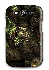 Hot New The Ninja By Tree Fantasy Women Warrior Abstract Fantasy Case Cover For Galaxy S3 With Perfect Design