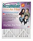 20x20x4 (19-1/2x19-1/2) Accumulair Diamond Filter MERV 13 4-Pack