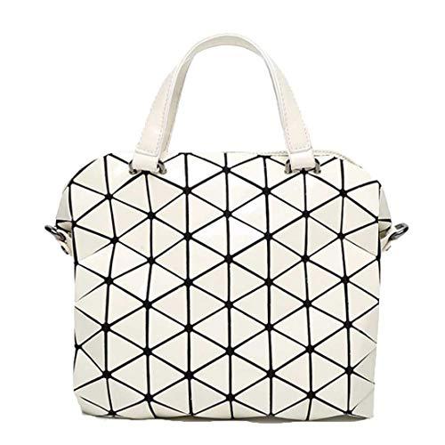 Crossbody Bag Géométrie Small Luminous Laser Main Sacs Bandoulière À Totes Beige White Women Femme 5w4SYv