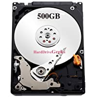 500GB 7200rpm 2.5 Laptop Hard Drive for Lenovo IdeaPad Y470p Y480 Y500 Y510 Y510p Z360