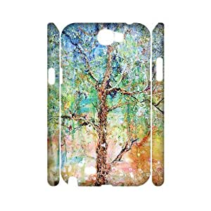 KSDHPNECASE case Of Tree of Life Customized Hard Case For Samsung Galaxy Note 2 N7100