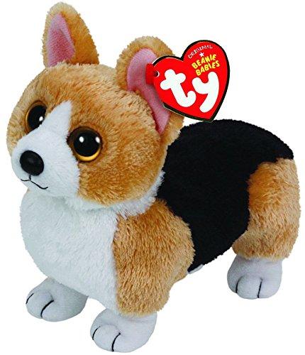 Dog Beanie Plush (Ty Beanie Babies Otis - Corgi Brown Dog)