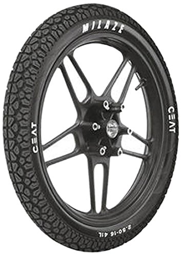 Ceat Milaze 3.00 17 Puncture Safe Tubeless Bike Tyre, Rear