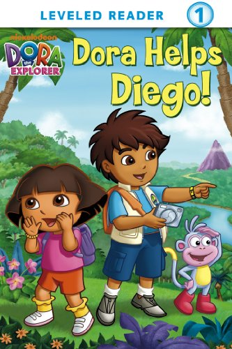 Dora Helps Diego! (Dora the Explorer) (Ready-To-Read Dora the Explorer - Level 1 Book 13)