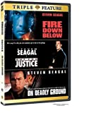 Fire Down Below/Out For Justice/On Deadly Ground (3FE) by Warner Home Video