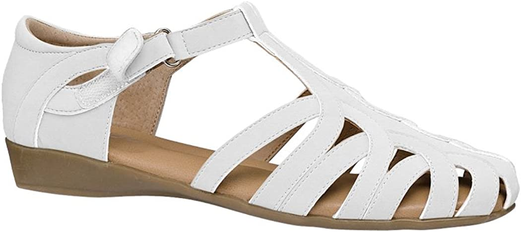 Vintage Sandals | Wedges, Espadrilles – 30s, 40s, 50s, 60s, 70s Beacon Womens Adult Angel Steps Regina Synthetic Flats Shoes Casual Shoes $18.97 AT vintagedancer.com
