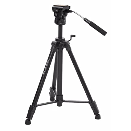 OSAKA VCT 880 Tripod with Bag for Digital SLR & Video Cameras (Load Capacity 10000 grams) Complete Tripod Units at amazon