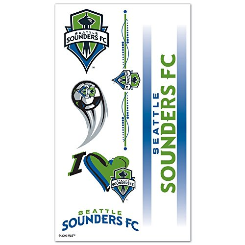 fan products of SOCCER Seattle Sounders Tattoos, Black