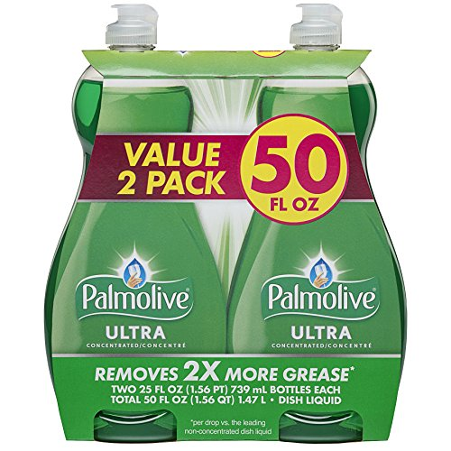 Palmolive Ultra Original Dish Wash Liquid, 25 Ounce, 2 Count