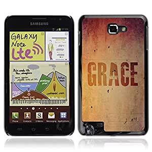 Bible Case Carcasa Case Funda Case La Biblia Samsung Galaxy Note / GRACE /