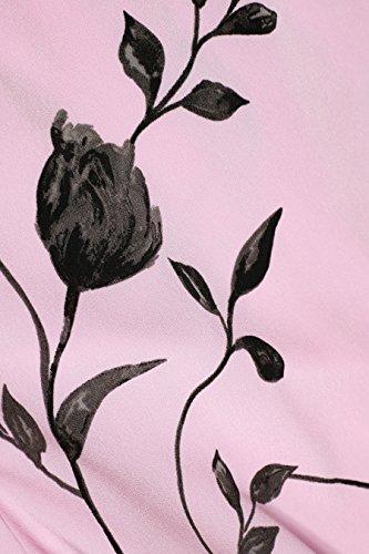 Bedrucktes Rosa Tall next Damen Wickelkleid TwvROq