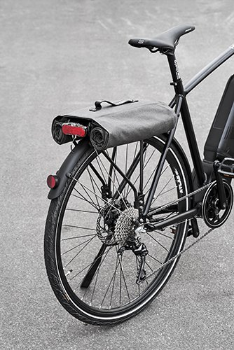 M Prophete Montaje de portaequipaje Gris//Marr/ón Volumen: 30/l Alforjas para Bicicleta