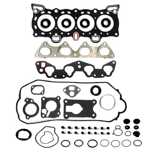 New EH604E1 Graphite Cylinder Head Gasket Set for 1988-95 Honda Civic Crx 1.5L Non-Vtec D15B D15B2 D15B6 D15B7 D15B8 1.6L D16A6 Engine (Vtec Sohc D15b)