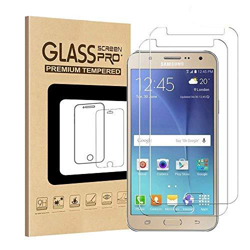 [2 Pack] Galaxy J7 2017/Galaxy J7 Sky Pro/Galaxy J7 Prime/Galaxy J7 Perx [Tempered Glass] Screen Protector, GreenElec 0.3mm Ultra Thin [9H Hardness] [Anti-Scratch] [Anti-Fingerprint] [Bubble Free]