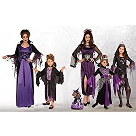 - 51z8COR 2BaEL - Rubie's Costume Child's Queen Vampire Costume, Large, Multicolor