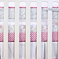 Just Born Botanica Fresh Air Crib Liner, Pink/Floral