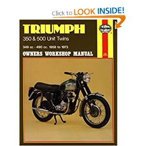 Triumph Unit Twins, 1957-73 (Owners' Workshop Manual) Clive Brotherwood