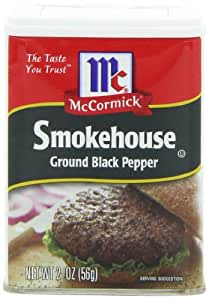 McCormick Smokehouse Ground Pepper, Black, 2-Ounce (Pack of 12)