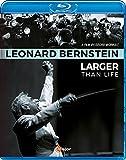 レナード・バーンスタイン ~ 偉大なるカリスマ (Leonard Bernstein ~ Larger Than Life) [Blu-ray] [輸入盤] [日本語帯・解説付]