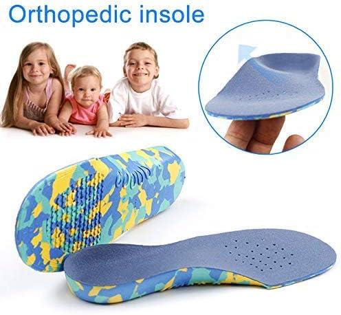 1 Paar Kinder Orthopädisch Eva Einlegsohlen Plattfuß Fußgewölbe Stütze Einlegesohle Schmerzlinderung Sport Schuhe Pad