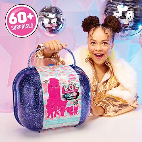 LOL Surprise Winter Disco Bigger Surprise includes OMG Fashion Doll Amazon Exclusive