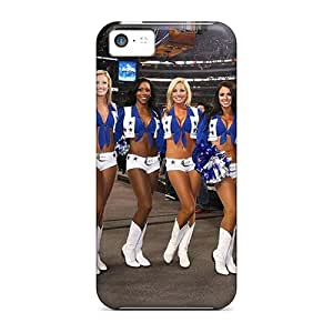 Top Quality Case Cover For Iphone 5c Case With Nice Cowboys Cheerleaders Appearance