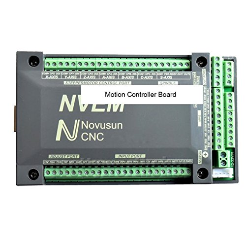 (4 Axis CNC 200KHz Ethernet MACH3 Card Motor Driver Motion Controller Board)