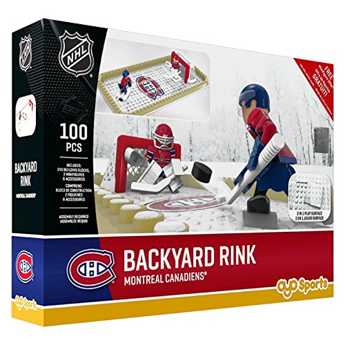 fan products of NHL Montreal Canadiens Backyard Rink Set, Small, Black