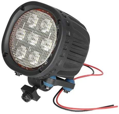 All States Ag Parts Parts A.S.A.P. LED Work Light – TYRI 62W Pedestal Mount Flood Beam