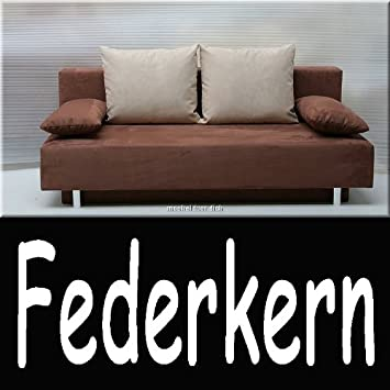 schlafsofa mit federkern g nstig m belideen. Black Bedroom Furniture Sets. Home Design Ideas