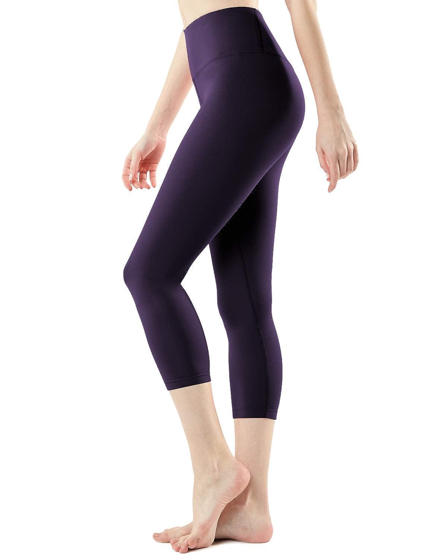 fyc21 - Redspacedye Small Yogabasic Thick Midwaist TSLA DRST Yoga Tights Pants Leggings Mid-Waist//High-Waist Tummy Control w Inner-Pocket Series