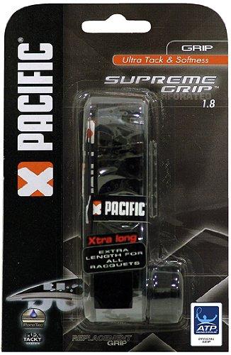 Pacific Supreme Grip Basisgriffbänder, Schwarz, One Size
