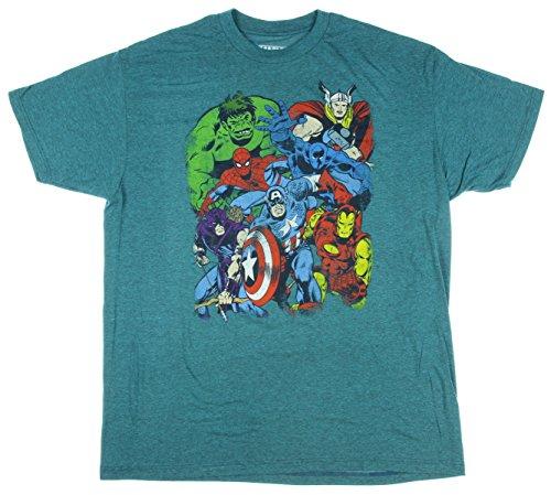 Marvel Comics Avengers Graphic T Shirt product image