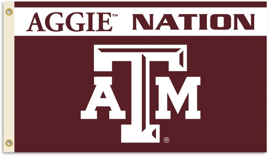 NCAA Texas A&M Aggies 3-by-5 Foot Nation Flag With Grommets 51z8ENHbqZL
