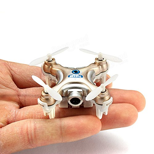 Generic Cheerson CX-10W CX10W Mini Wifi FPV With Camera 2.4G 4CH 6 Axis LED RC Quadcopter