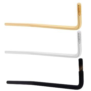 Sharplace 3 Pedazos Metal Tremolo Brazo Palanca 6mm para Guitarra Eléctrica Accesorios para Instrumentos Musicales